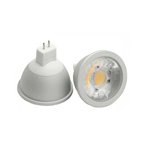 Led spotlight 12V 6W aluminum COB spot light mr16 gu5.3 gu10 ceiling tracking light