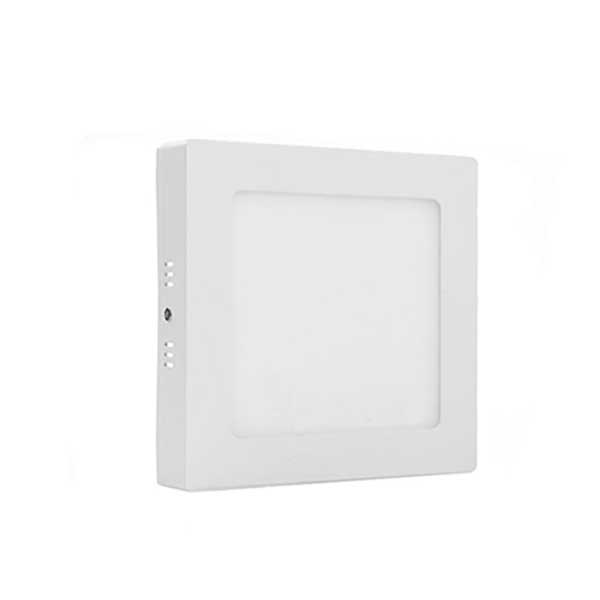 Ultra Thin 6w 12w 18w 24w Surface Mount square LED panel light Downlight Slim