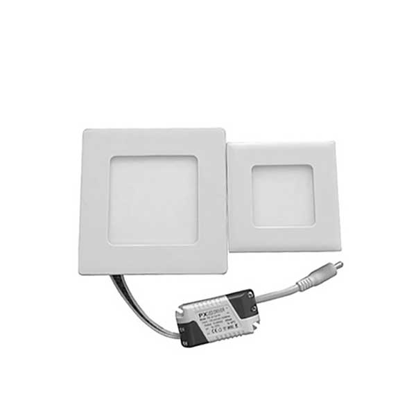 Ultra Thin New 12w 85-265v Aluminium Commerical Office Square Small Led Panel Light