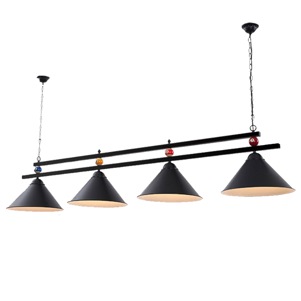 modern billiards led pendant light glass iron dining room coffee kitchen restaurant hanging lighting